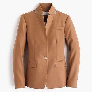 NWT J.Crew Regent blazer in wool flannel
